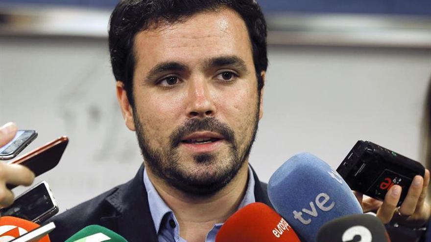 Garzón será el portavoz de Unidos Podemos en la Comisión de Hacienda del Congreso