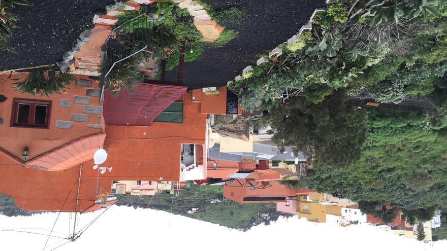 Zona, camino a La Caldera en Bandama.