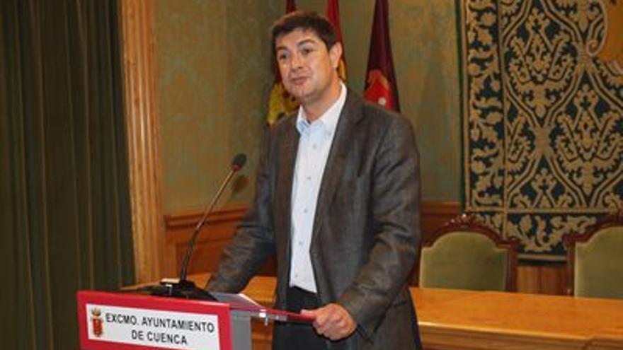 Juan Ávila, alcalde de Cuenca / Foto: Ayuntamiento