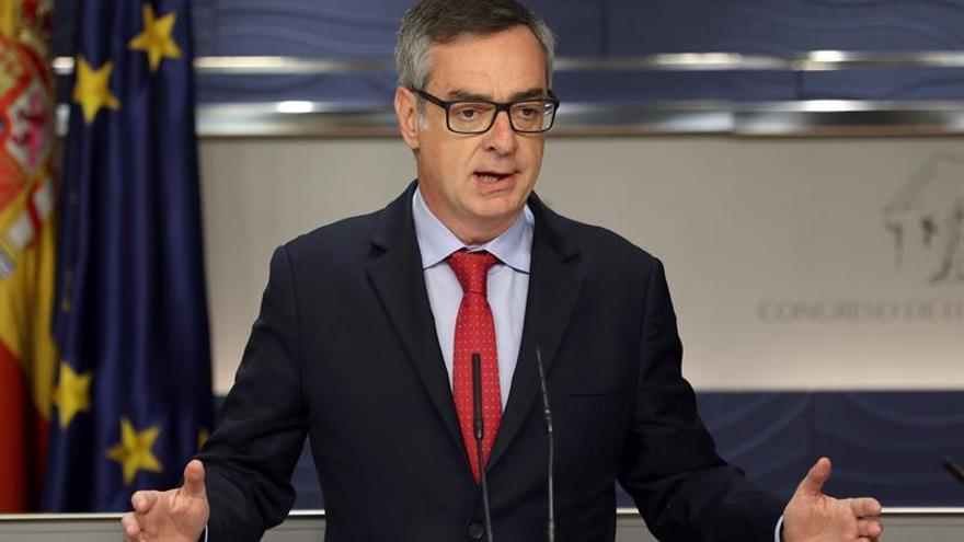 """Villegas dice que entrar en el Gobierno de Murcia """"no es una opción"""" para Cs"""