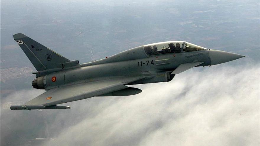 Muere el capitán que pilotaba el Eurofighter estrellado cerca de la base de Morón (Sevilla)
