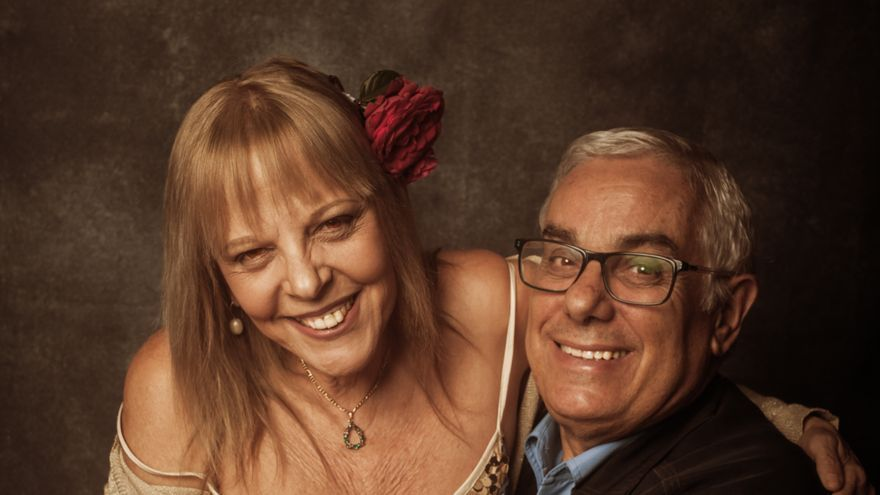 Rosario Valcárcel y Luis León Barreto. Foto: EMILIO BARRIONUEVO.