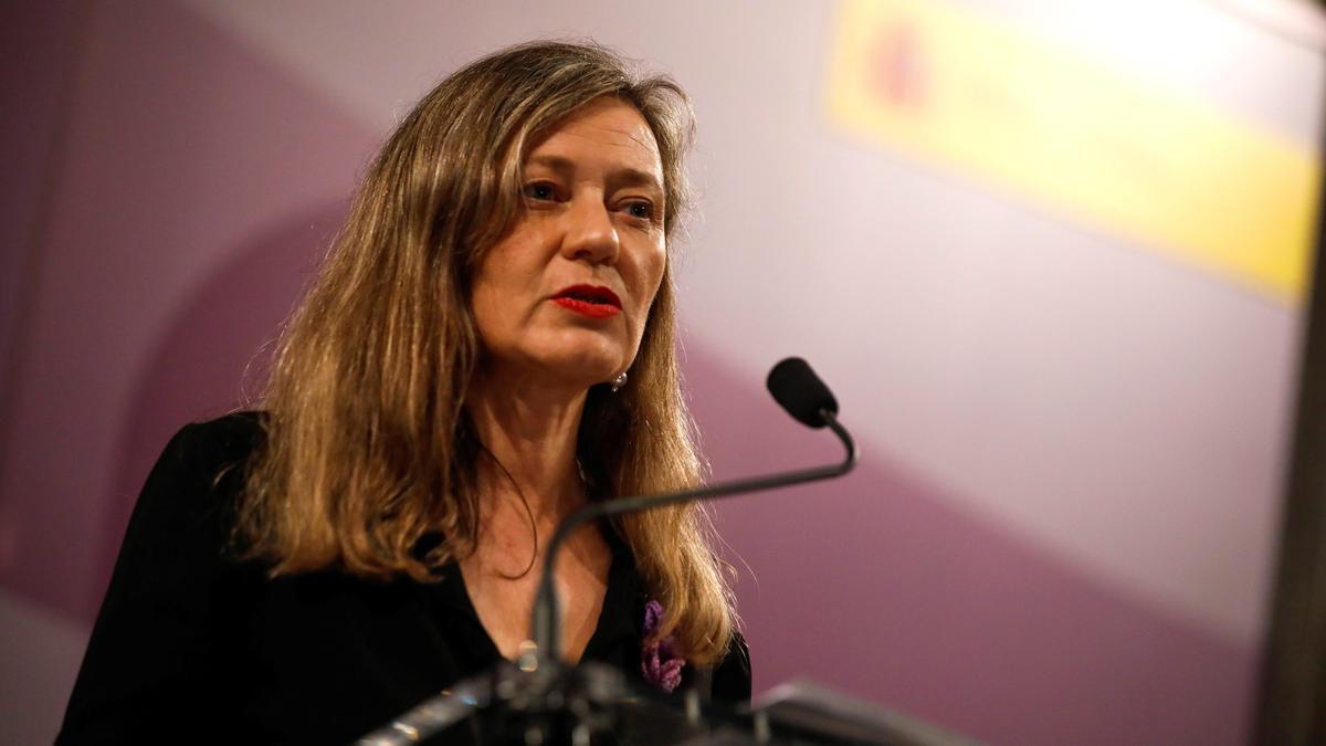 La Delegada del Gobierno Contra la Violencia de Género, Victoria Rosell.