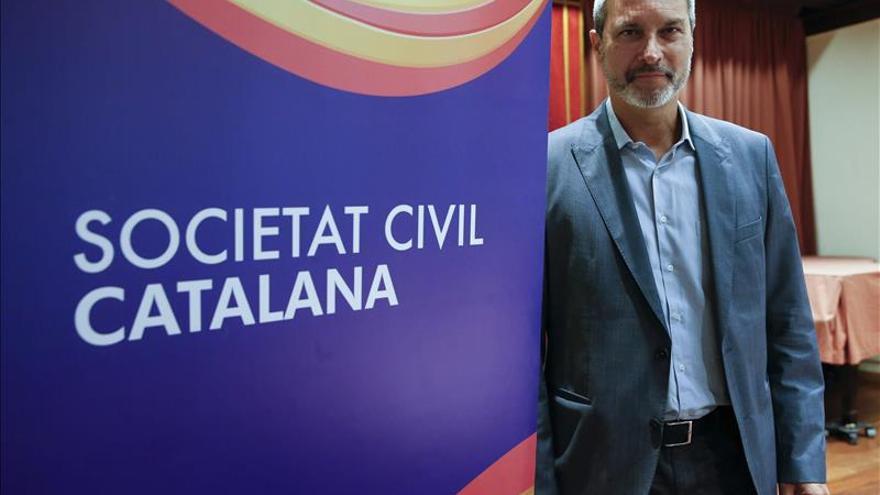 El expresidente de Societat Civil Catalana Josep Ramon Bosch era uno de los señalados por el manifiesto