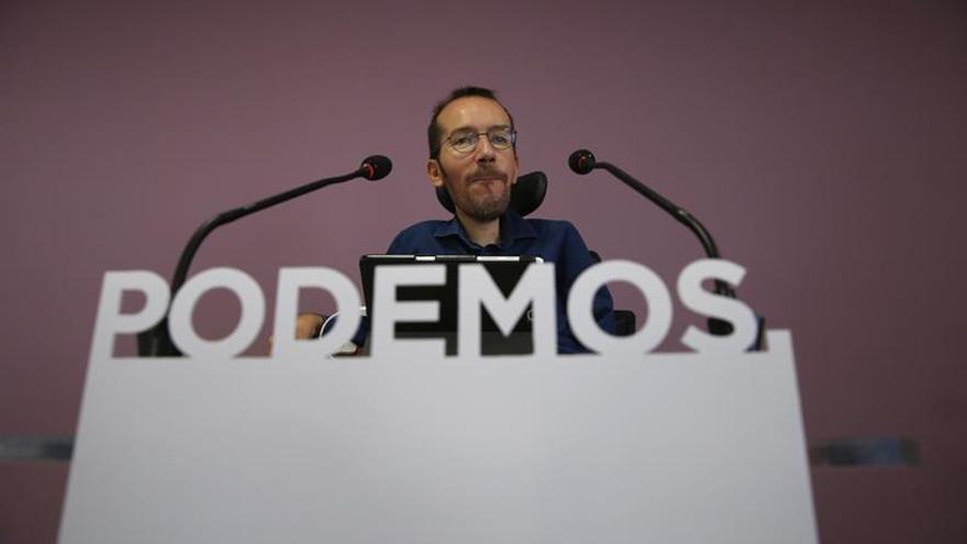 Echenique: Podemos ha demostrado con creces que no rehuye el debate interno