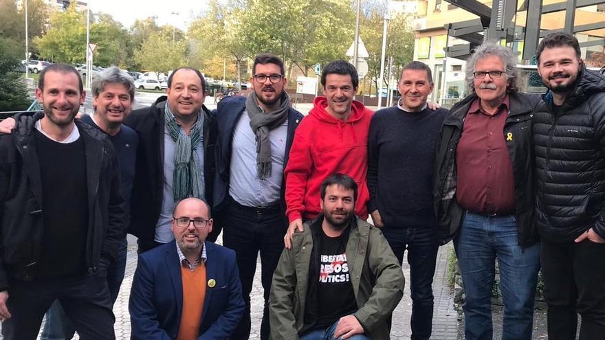 Dirigentes de ERC y de Bildu se reunieron en San Sebastian el pasado domingo