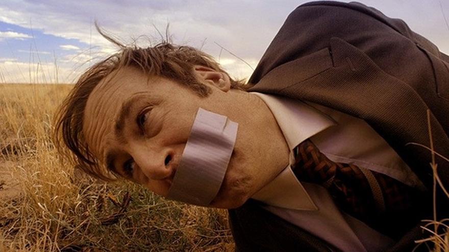 Bob Odenkirk, pasando un mal rato en 'Better Call Saul'