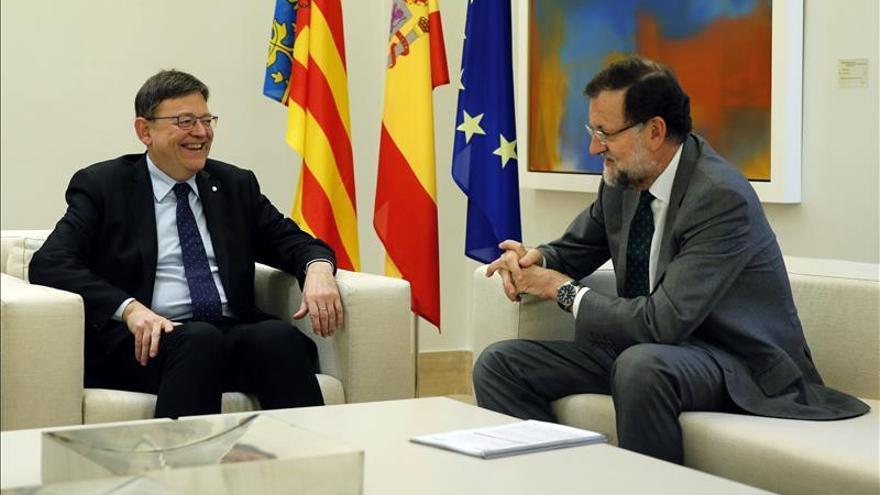 Puig respalda a Rajoy en favor de la unidad y la legalidad pero pide diálogo