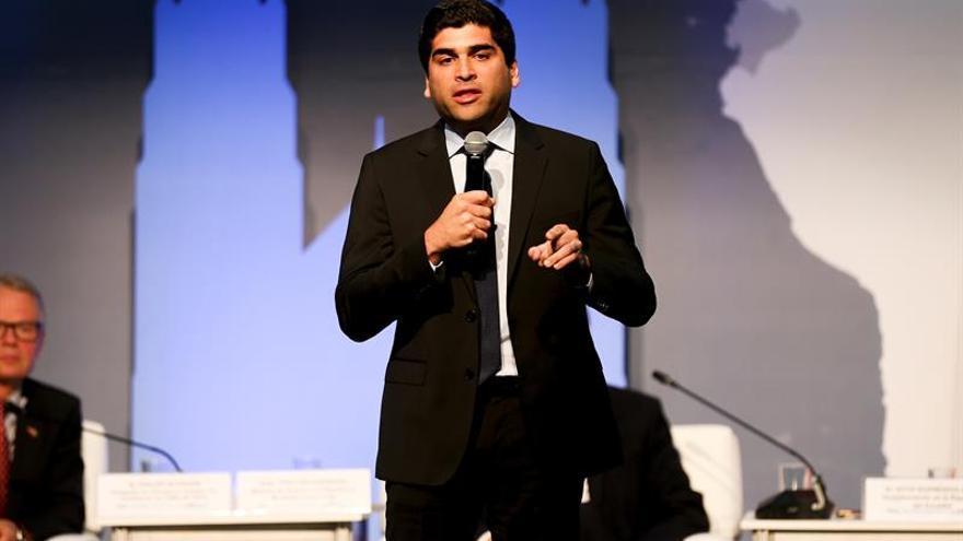 El vicepresidente ecuatoriano, Otto Sonnenholzner.