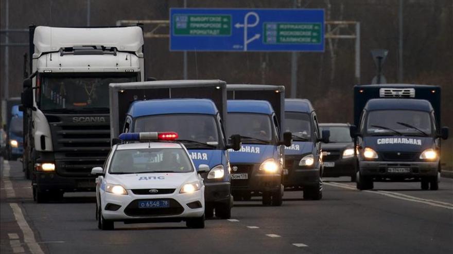 Llega a Rusia un segundo avión con restos de víctimas de la tragedia aérea