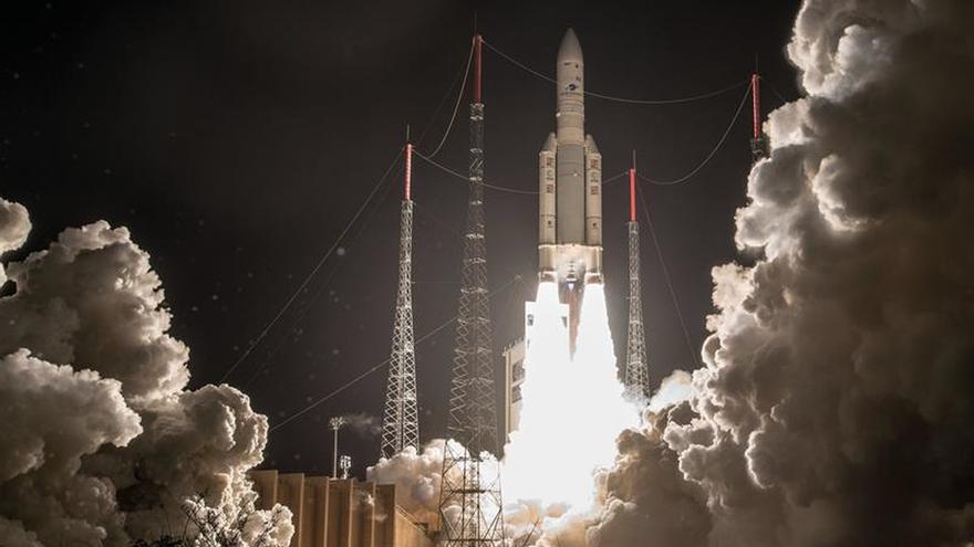 Recuperados los dos satélites perdidos esta madrugada por un cohete Ariane