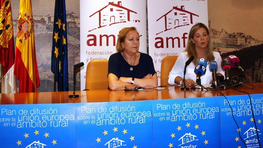 Rueda de prensa de AMFAR en Toledo