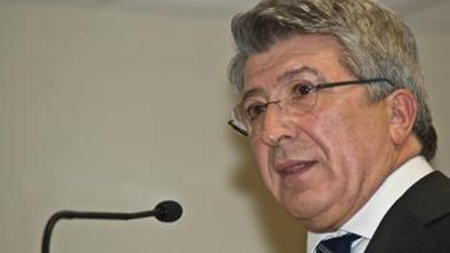 Enrique cerezo, presidente atletico de madrid