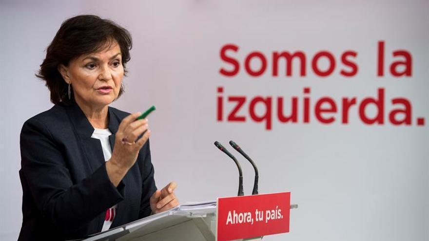 """Calvo sobre """"portavoza"""": El debate es que lo que no se nombra, no existe"""