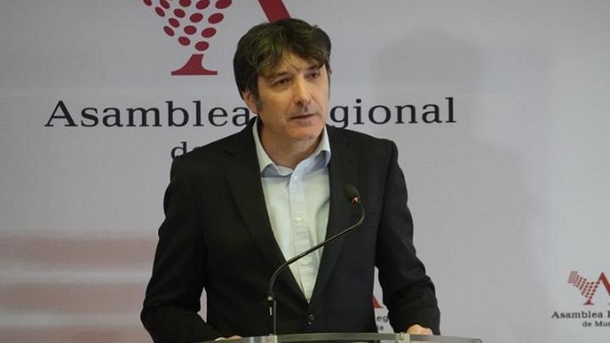Rafael Esteban, diputado de Podemos Región de Murcia