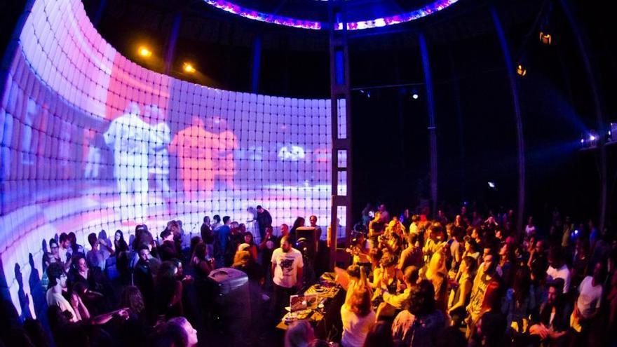 Imagen de archivo de una sesión musical en Keroxen, en el espacio cultural El Tanque