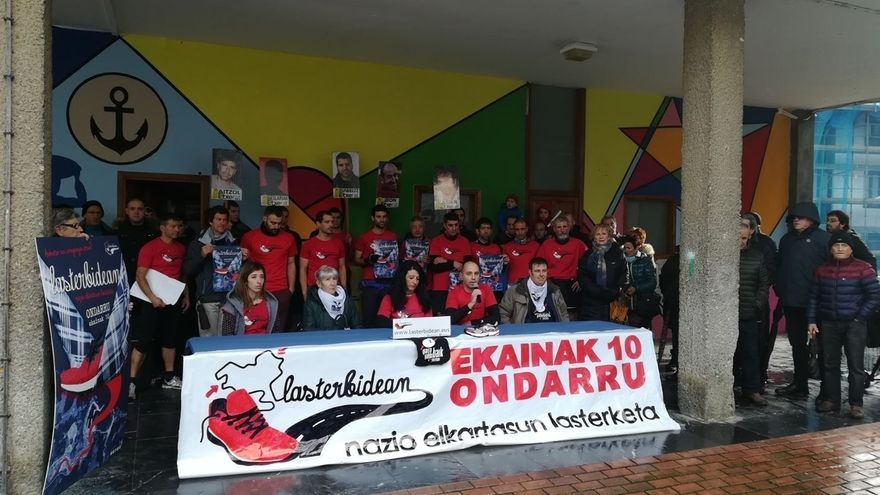 """Etxerat celebrará el próximo 10 de junio en Ondarroa su carrera solidaria anual """"por los derechos"""" de los presos"""