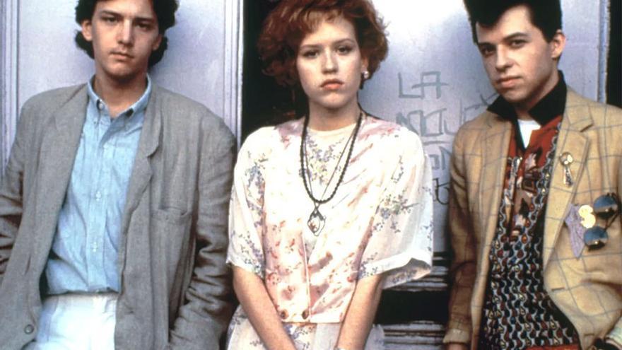 Posado de los protagonistas de la película. (Canarias Ahora)