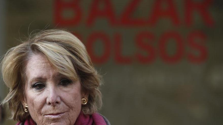 Esperanza Aguirre en una foto de archivo.