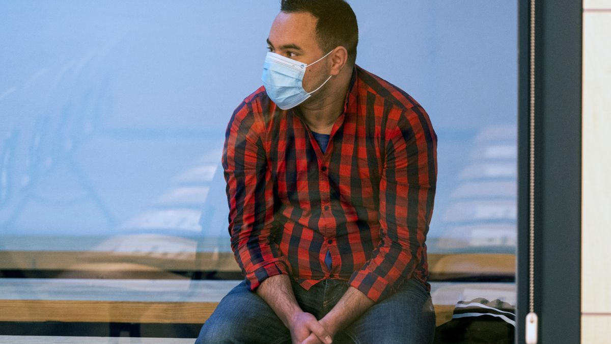 El condenado Said Ben Iazza en una fotografía de archivo. EFE/Fernando Villar/POOL/Archivo