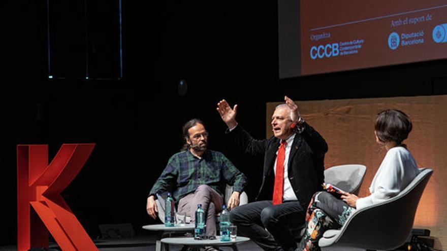 El profesor Nuccio Ordine /Foto: ©CCCB Carlos Cazurro 2019