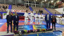 Podio femenino de la Copa de España de Judo.
