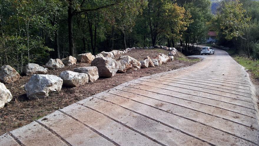 Concluye la rehabilitación ambiental de la antigua escombrera de Anievas