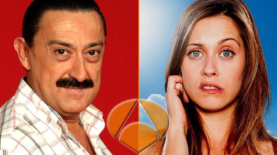 Actores de 'Aída' y 'Con el culo' se van 'Allí abajo' con Antena 3