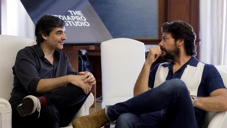 El actor Álvaro Morte, internacionalmente conocido por su papel de El Profesor en 'La casa de papel'.