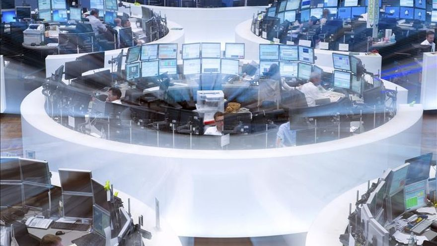 La Bolsa de Fráncfort baja un 0,22 por ciento en la apertura