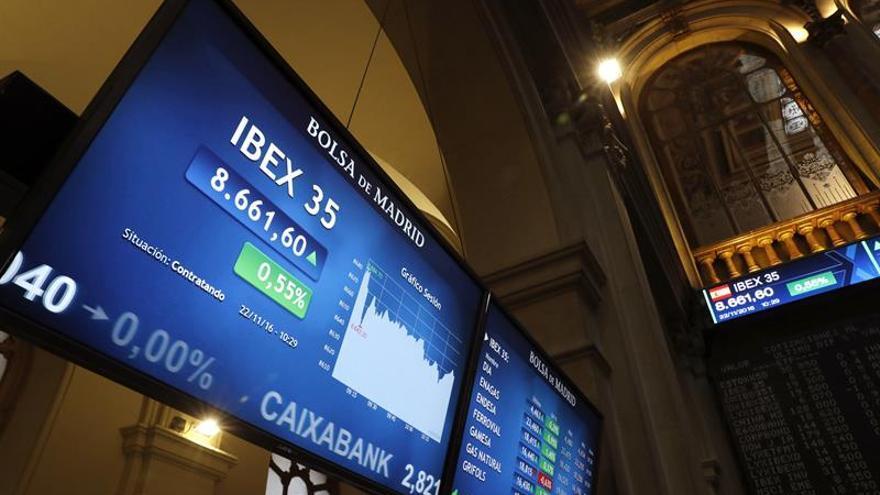 La Bolsa española sube un 0,34 % en la apertura y supera los 8.650 puntos
