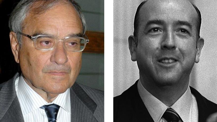 Rodolfo Martín Villa y el ex ministro franquista José Utrera Molina.