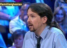 Las familias aprietan en laSexta a Pablo Iglesias, 'encantado' con el formato