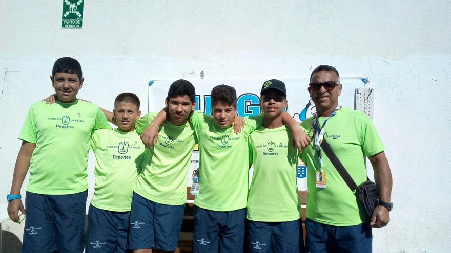 Selección masculina de La Palma de bola canaria.