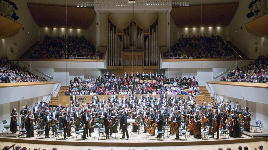 La Orquesta de Valencia y la de Mariinksi bajo la batuta de Valery Gergiev