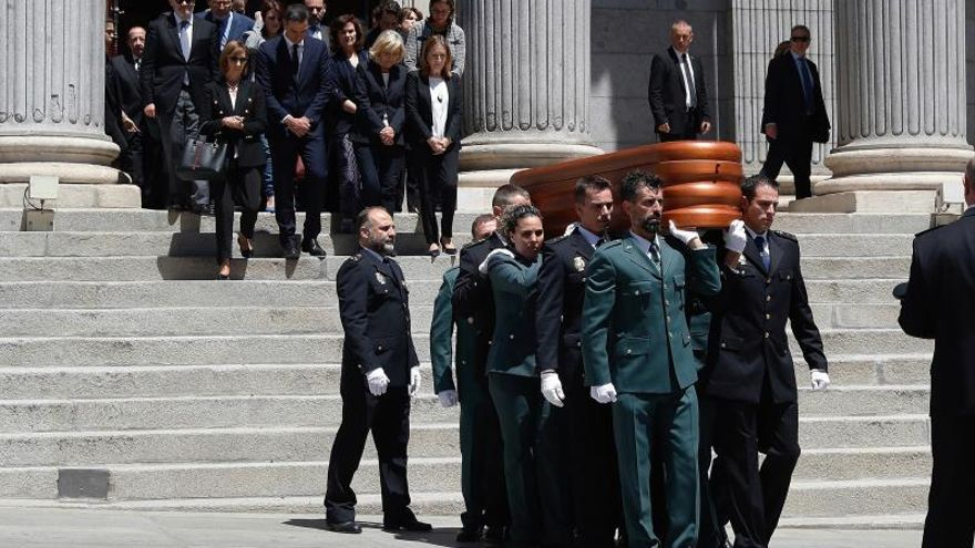 España y la emoción dicen adiós a un defensor de la democracia y la libertad