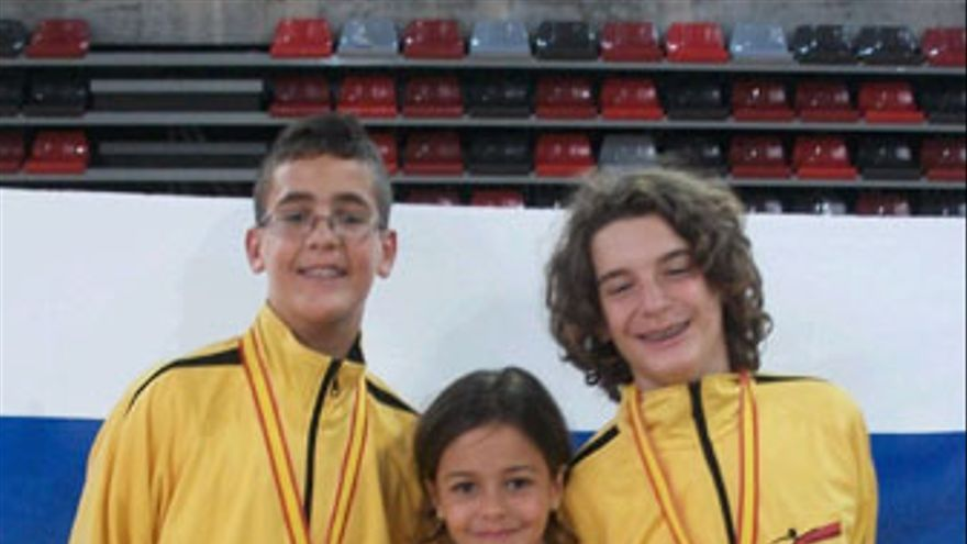 Gran Canaria brilla en el Campeonato de España infantil de esgrima