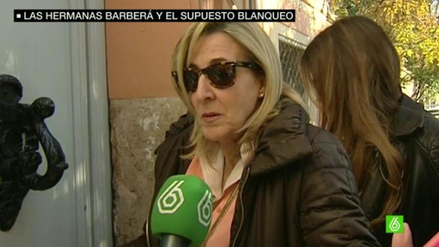 Asunción Barberá en una imagen de La Sexta.