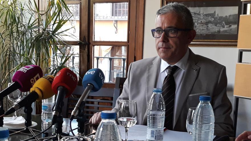 César García Arnal, secretario general de UPTA Castilla-La Mancha
