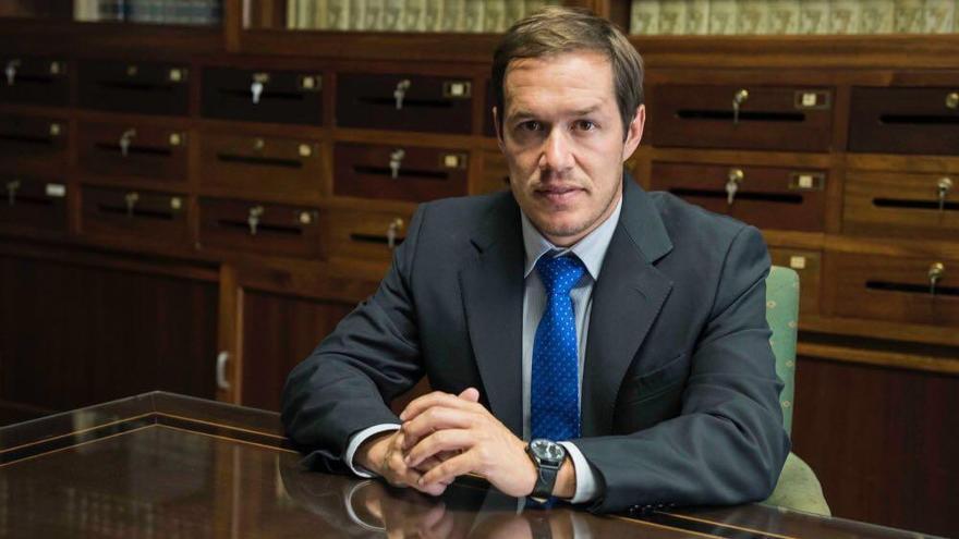 Mariano Hernández Zapata, concejal de Hacienda del Ayuntamiento de Los Llanos de Aridane.