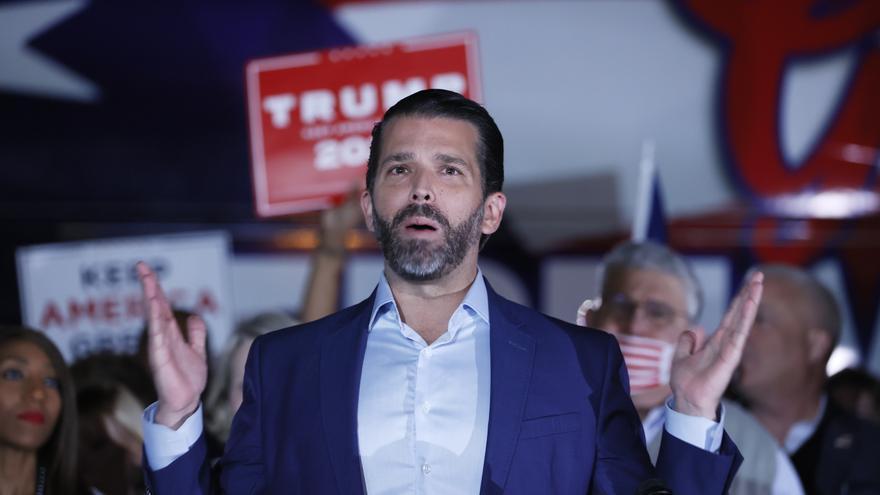 Don Jr., el hijo mayor de Trump, también da positivo a la covid-19