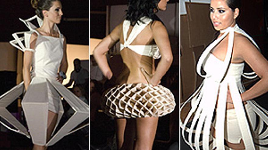 Originales diseños de alumnos de la Escuela de Arte y Superior de Diseño Gran Canaria. (CANARIAS AHORA)