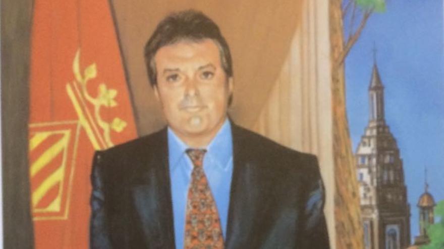 Imagen de Alfonso Rus en el cómic de la Historia de Xàtiva