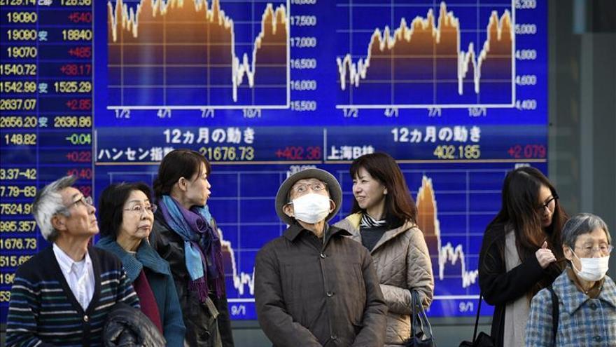 El Nikkei sube un 0,53 por ciento hasta los 18.867,64 puntos