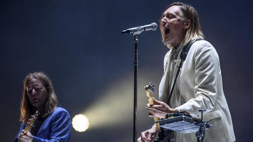 Arcade Fire corona a lo grande la primera jornada del Bilbao BBK Live