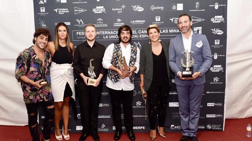Tres andaluces son premiados en el Festival de las Minas, cuya Lámpara Minera ha conseguido Alfredo Tejada