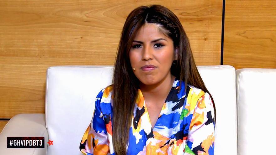 Chabelita, este pasado domingo en el debate de Gran Hermano VIP