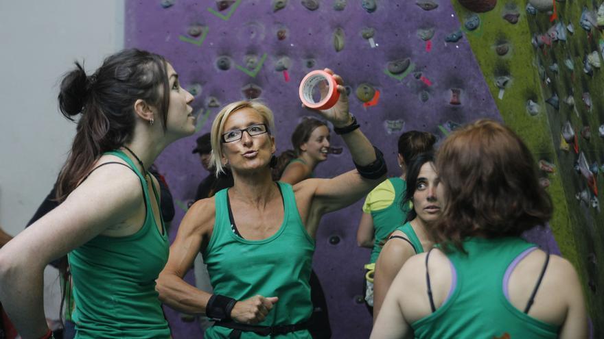 Climbing Girl Party.