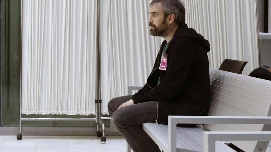 Trasladan de Daroca a Zaballa a un condenado por enaltecer a ETA en Twitter