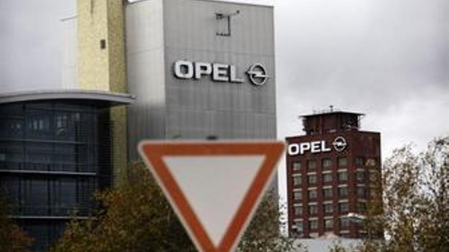 Plano general de la fábrica Opel